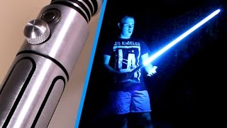 Saberforge Acolyte Review - Real Star Wars Lightsaber!
