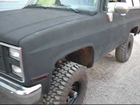 Line X Complete Inside And Out Gmc K5 Blazer Reving Youtube