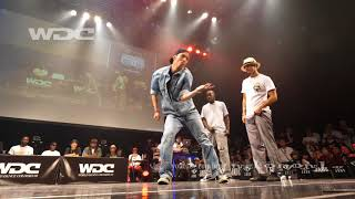 PoppinC & prince vs Mo'Higher(HOAN JAYGEE) FINAL POP WDC 2017 FINAL WORLD DANCE COLOSSEUM