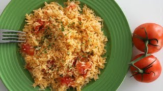 Tomato Rice Pilaf - My Grandma Marusya's Recipe - Heghineh Cooking Show