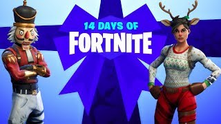 14 Days of Fortnite Christmas Event Countdown + Gameplay!  (Fortnite New Update)