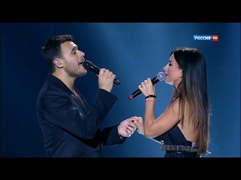 Ани Лорак и Emin - Зови меня (Начистоту концерт EMINа, 04.01.2014, HD)