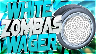 INSANE WHITE ZOMBAS WAGER ON ROCKET LEAGUE!! YOU WON'T BELIEVE WHAT HAPPENS!!