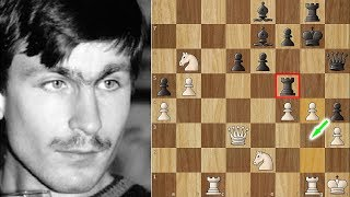 The Only Man Kasparov Ever Feared - This is Ivanchuk's Immortal