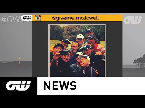 GW News: McDowell's all-star-selfie, Day's injury and Manassero's Malaysian return
