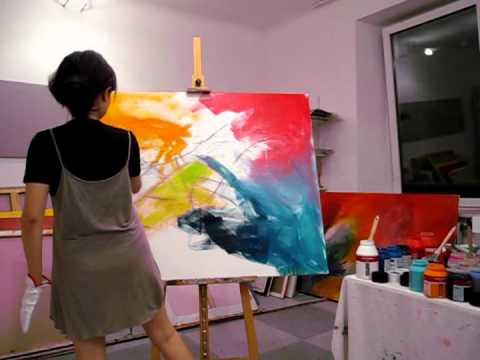 Live Painting Part 1 (how to begin)