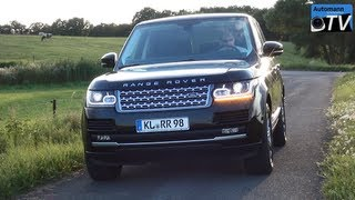 2013 Range Rover Vogue SDV8 (340hp) - DRIVE & SOUND (1080p FULL HD)