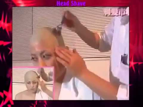 Womens headshave youtube