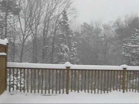 Groundhog Day Snow Storm Canada 2011