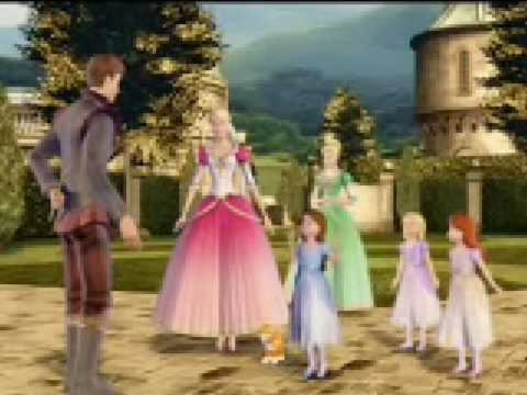 Barbie y las 12 Princesas Bailarinas 1/8 (Audio Latino)