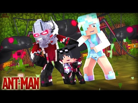 Minecraft: Who's Your Family? - A FAMÍLIA DO HOMEM FORMIGA ( Ant- Man ) thumbnail