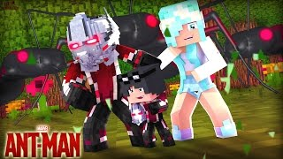 Minecraft: Who's Your Family? - A FAMÍLIA DO HOMEM FORMIGA ( Ant- Man ) [ WIIFEROIZ ]
