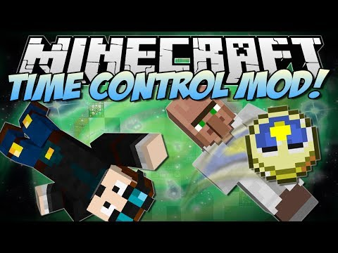 Minecraft   TIME CONTROL MOD! (Slow Motion. Super Speed and The Matrix!)   Mod Showcase