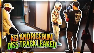 EARTHQUAKE - KSI FT. RiceGum BEHIND THE SCENES!!