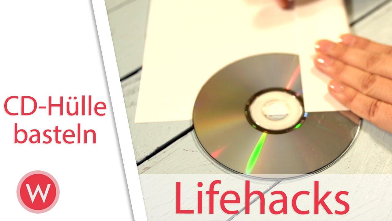 lifehack cd h lle selber basteln youtube. Black Bedroom Furniture Sets. Home Design Ideas