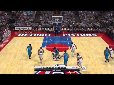 NBA Elite 11 Oklahoma City Thunder @ Detroit Pistons