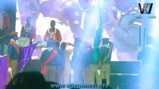 OLAMIDE HONOURED BY BOYS SCOUT WITH NECKACHIEF AT OLIC 2015 (Nigerian Entertainment)