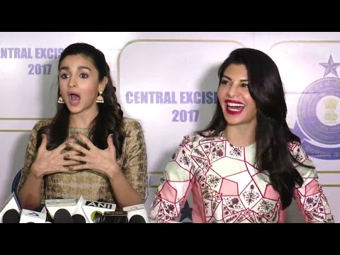 Bollywood Celebs Celebrate Central Excise Day 2017 - Alia Bhatt,CNawzuddin