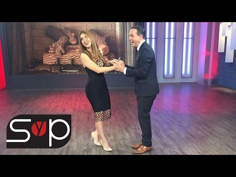 Detrás de Cámaras | Jessica Cediel terminó mareada de tanto bailar con Carlos