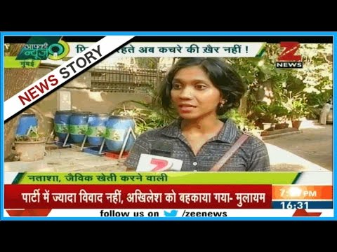 Organic farming with household waste in Housing society in Mumbai