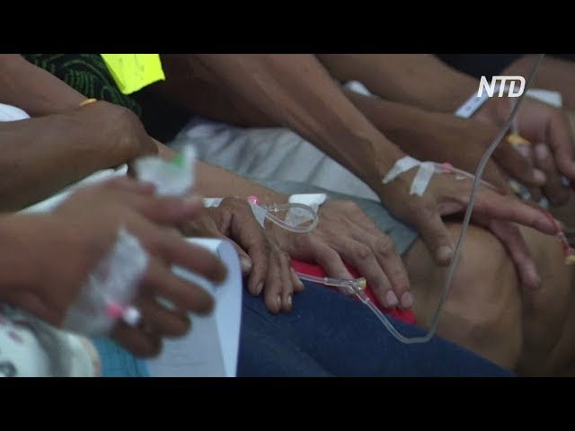 Массовое отравление кокосовым вином на Филиппинах: 11 погибших