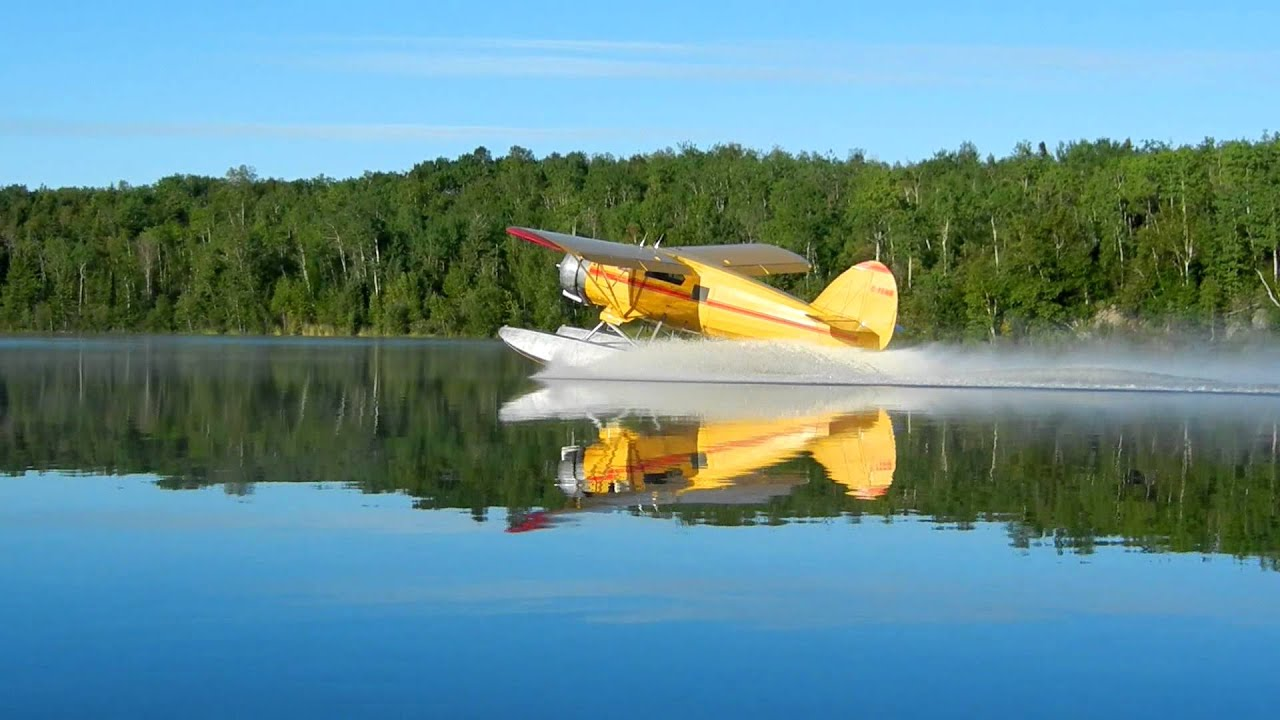 Norseman Take Off On Floats