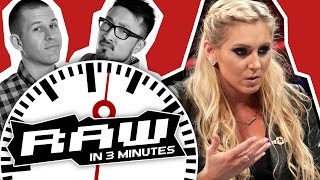 Dana Brooke Slaps Charlotte; Roman Reigns vs. Kevin Owens | WWE RAW in 3 MINUTES 9/12/16