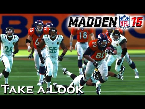 Madden NFL 15 - X360 PS3 Gameplay (XBOX 360 720P) Take a Look