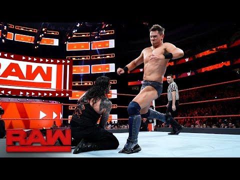 The Miz vs. Roman Reigns - Intercontinental Championship Match: Raw, Jan. 29, 2018 thumbnail