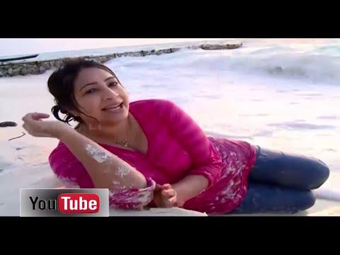 Lakshmi Nair Cleavage on Maldives Beach