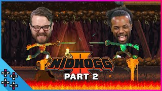 NIDHOGG 2 TIEBREAKER SHOWDOWN: Kinda Funny's GREG MILLER vs. AUSTIN CREED - Special Guest Savepoint