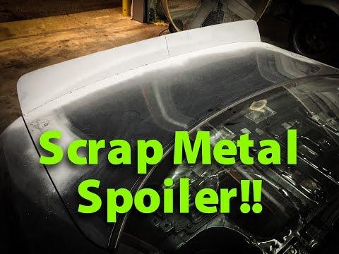 Scrap Metal 240sx Duckbill!!