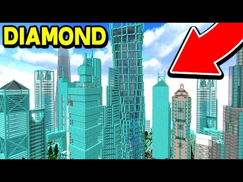 TURNING MY MINECRAFT SERVER INTO DIAMONDS! (Minecraft Trolling)