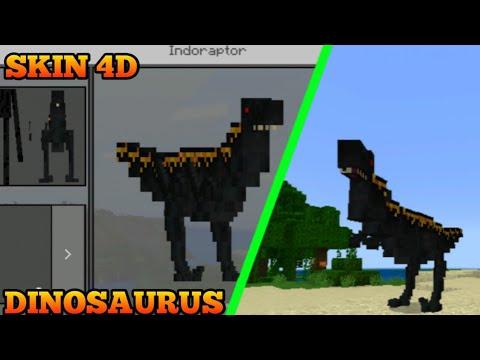 Skin Pack 4D Dinosaurus Ada Di Minecraft MCPE No clickbait