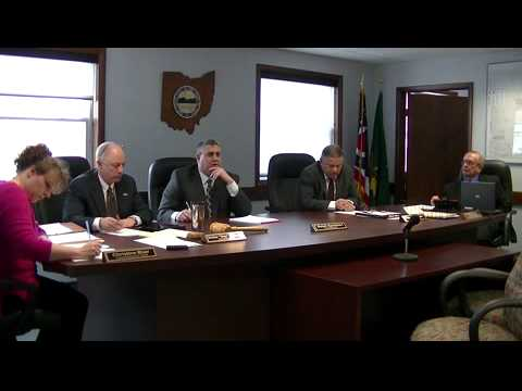 Geauga County Commissioners' Meeting, 3/3/2015
