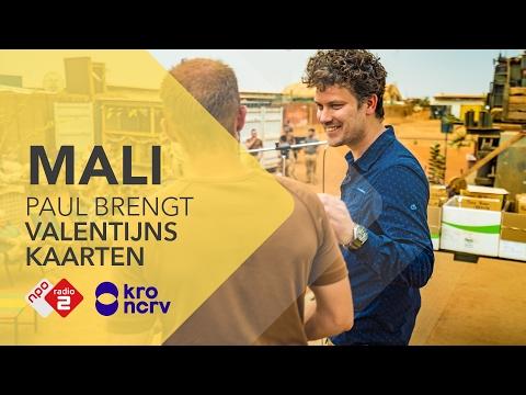 Paul deelt Valentijnskaarten uit aan onze jongens! - Wout2Day: Missie Mali | NPO Radio 2