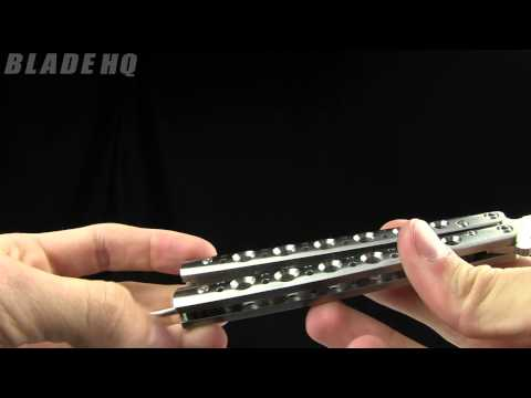 Benchmade Balisong 67 ▶ Benchmade 67 Tanto Recurve