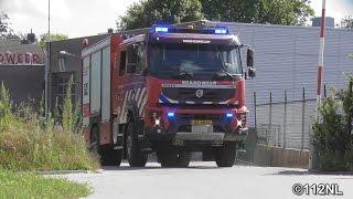 [Opkomst + Uitruk] Brandweer Woensdrecht/Hoogerheide TS 7335  naar PAC Edisonweg Hoogerheide