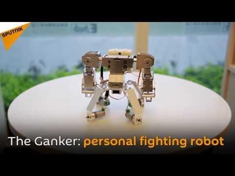 Робот ганкер своими руками 51