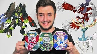 Ouverture de 3 Pokébox YVELTAL SHINY EX ! XERNEAS SHINY EX ! ZYGARDE EX ! SUBLIMES POKEBOX !!