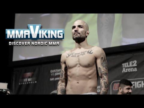 UFC Sweden 4 Weigh Ins Akira Corassani vs  Sam Sicillia
