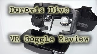 VR Goggle Review - Durovis Dive
