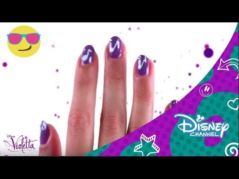 Violetta : Nail Art | Disney Channel oficial
