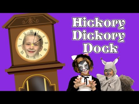 Hickory Dickory Dock | Counting | Educational | Songs For Kids