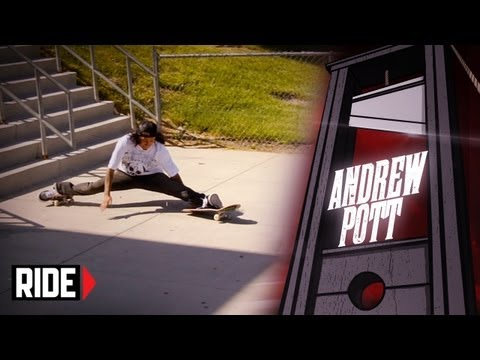 Skateboarder Does the Splits - Andrew Pott