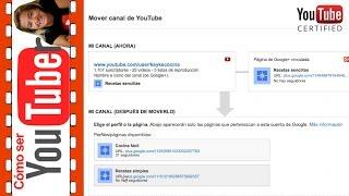 Cómo transferir un canal de Youtube