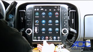 "Linkswell GEN 3 GM 12.1"" T-Style Radio Installation"