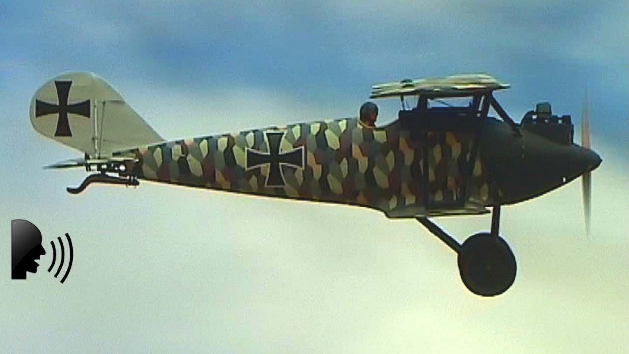 Pfalz d iii ww1 german fighter 1917 youtube