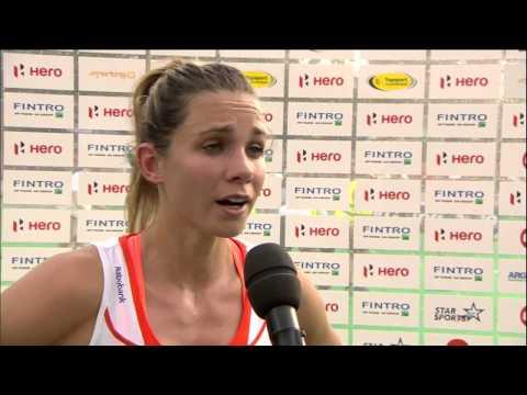 Post Match Interview Ellen Hoog