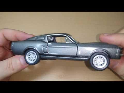 Просто моделька Ford Mustang Shelby 67 года